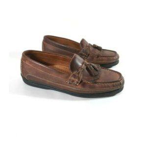 Dockers Kiltie Tassel Loafers Mens Sz 12 M Brown